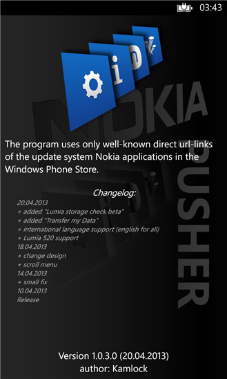LUMIA pusher - Nokia Lumia WIndows Phone 8