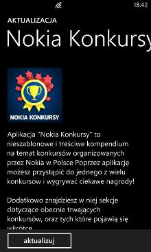 Nokia Konkursy - Nokia Lumia