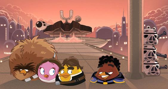 Angry Birds Star Wars Cloud City