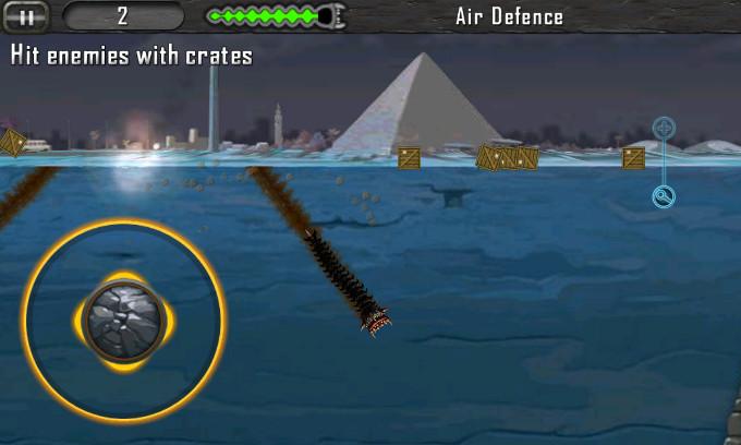 Death Worm - mini gra Air Defence