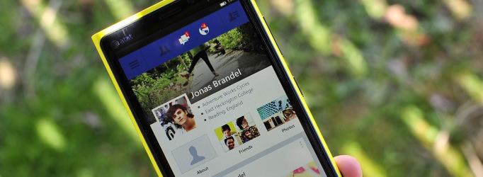 Facebook Beta - Windows Phone 8