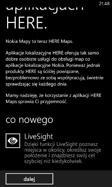 HERE Maps LiveSight - Nokia Lumia Windows Phone 8