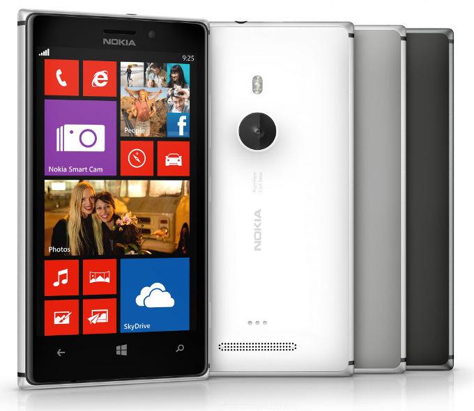 Nokia Lumia 925 - dostępne kolory