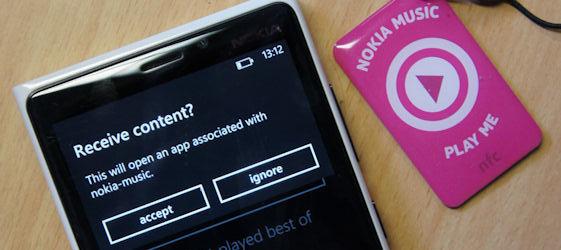Nokia NFC Writer - Nokia Lumia Windows Phone 8