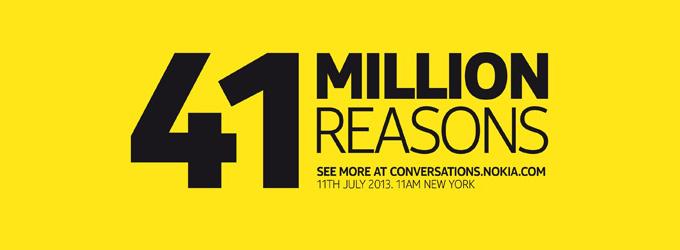 41 milionów powodów - Nokia Lumia EOS
