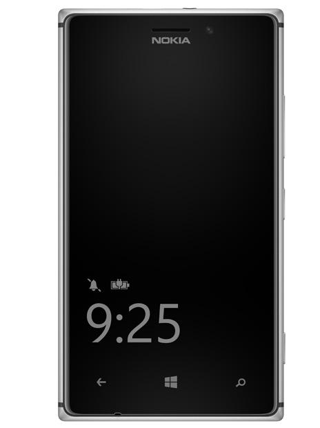 Nokia Lumia 925 - Nokia Glance Screen Beta