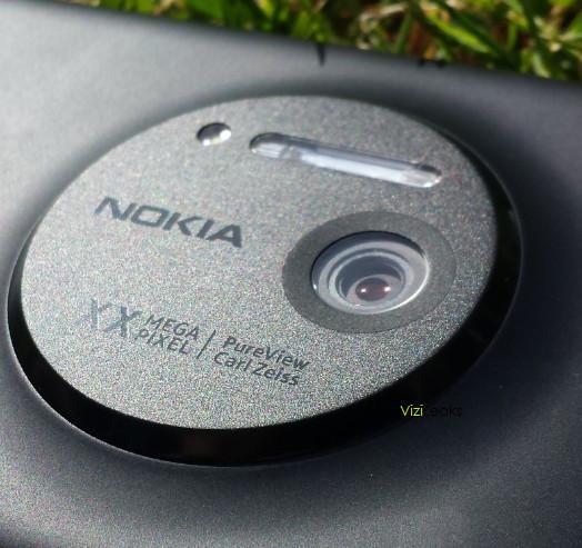 Nokia Lumia EOS - tył telefonu