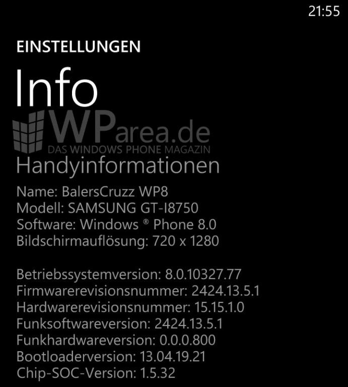 Aktualizacja GDR2 8.0.10327.77 - Samsung ATIV S