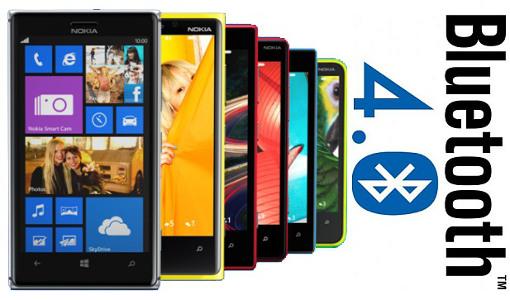 Bluetooth 4.0 Nokia Lumia