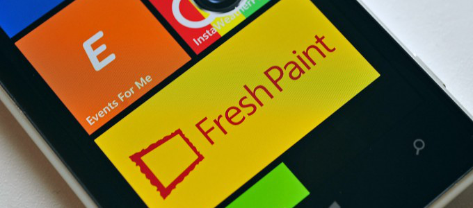 FreshPaint Windows Phone