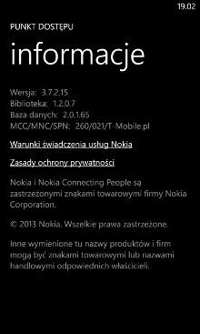 Punkt dostępu 3.7.2.15 - informacje