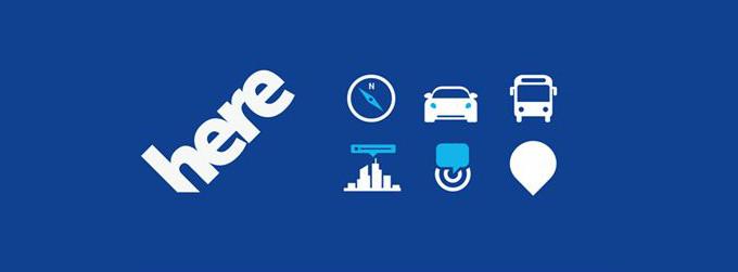 Usługi HERE - Drive, Drive+, Maps, Transit