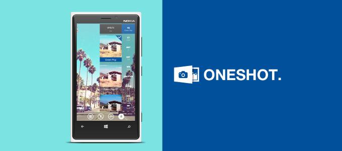 OneShot - Windows Phone