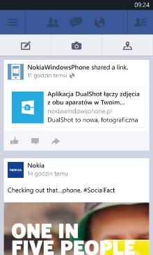 Facebook Beta 5.1.0.6 dla Windows Phone 8