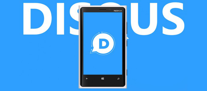 Disqus dla Windows Phone