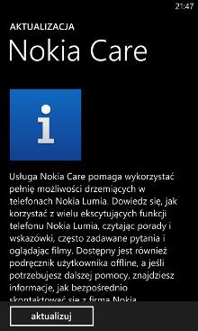 Nokia Care - Nokia Lumia Windows Phone 8