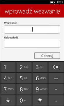 PekaoToken - Windows Phone