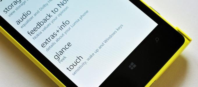 Nokia Lumia - funkcja Podgląd