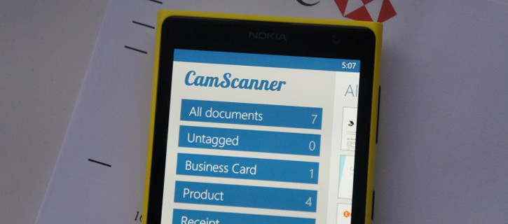 CamScanner dla Windows Phone