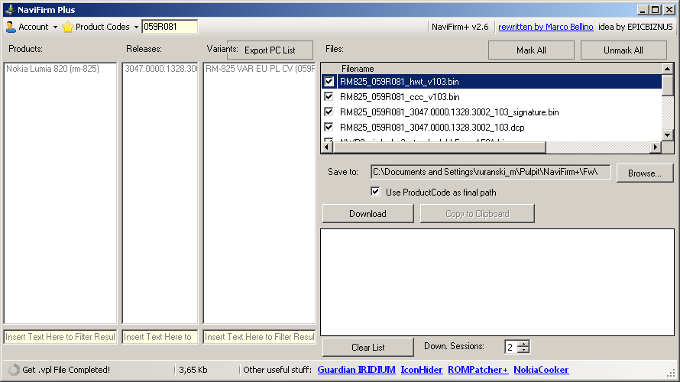 NaviFirm Plus 2.6