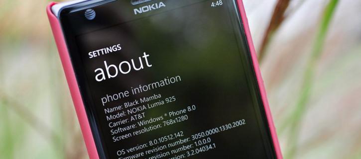 Nokia Lumia 925 - Windows Phone 8 Update 3