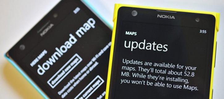 Przyrostowe aktualizacje map HERE