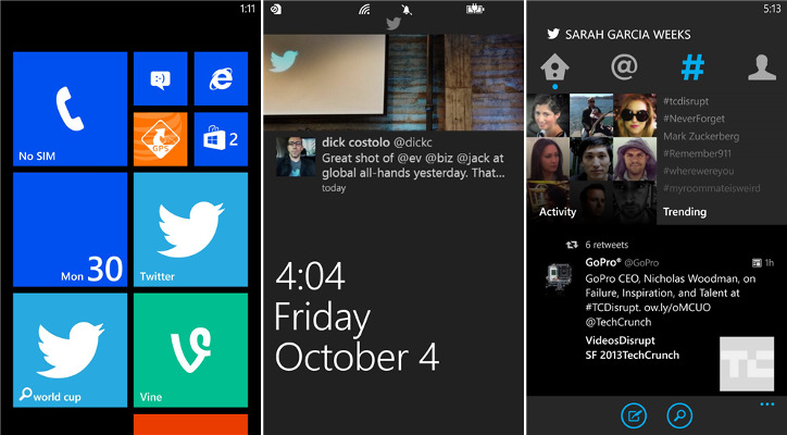 Twitter 3.0 dla Windows Phone