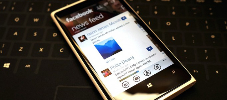 Facebook Windows Phone 8.1