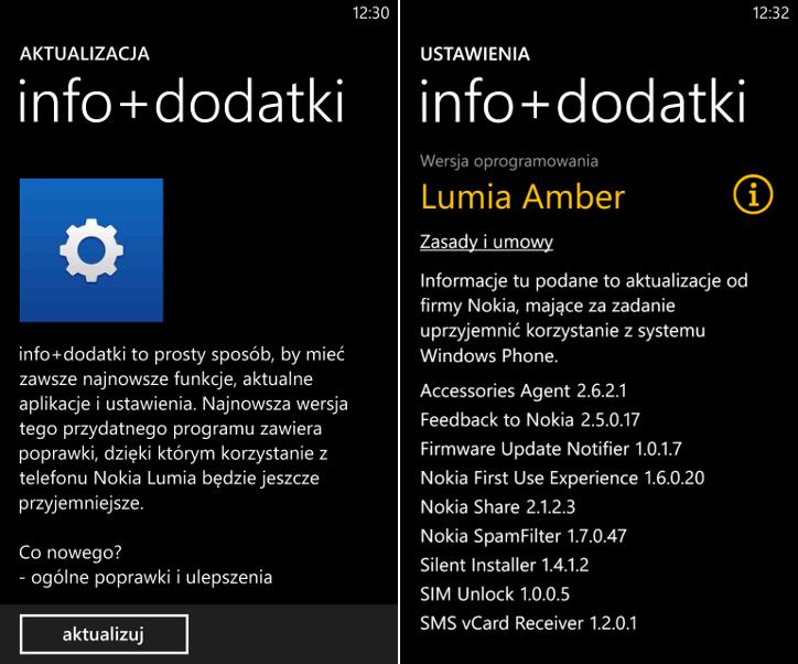 info+dodatki - Nokia Lumia WP8