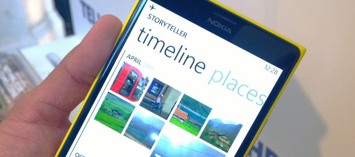 Nokia Storyteller dla Nokia Lumia z oprogramowaniem Lumia Black