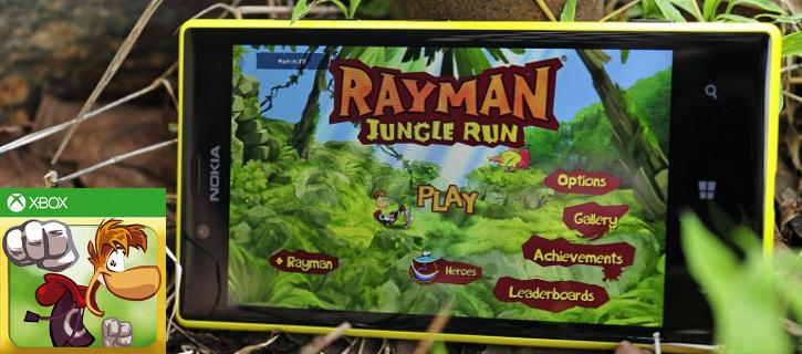 Rayman Jungle Run Windows Phone