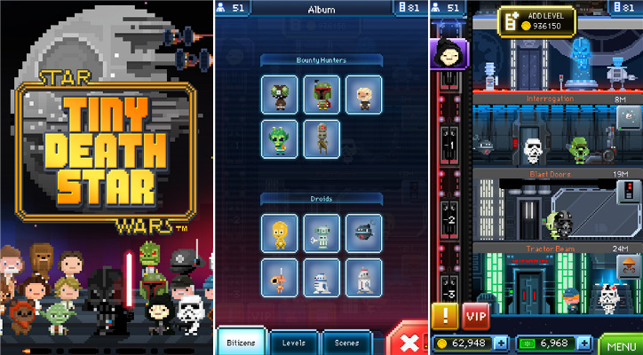 Star Wars: Tiny Death Star Windows Phone