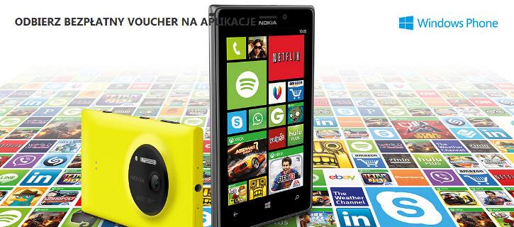 Świat aplikacji - bon upominkowy dla Nokia Lumia 925 oraz Nokia Lumia 1020