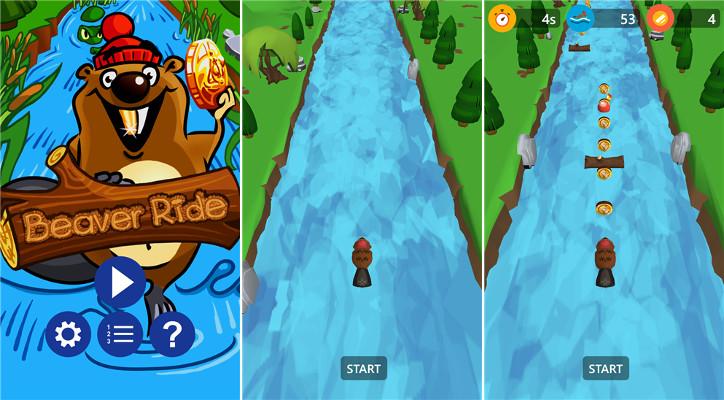 Beaver Ride dla Windows Phone
