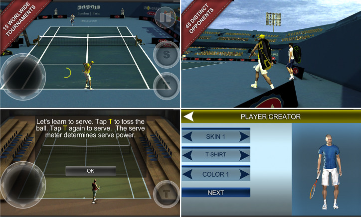 Cross Court Tennis 2 dla Windows Phone
