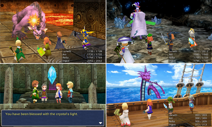 Final Fantasy III Windows Phone