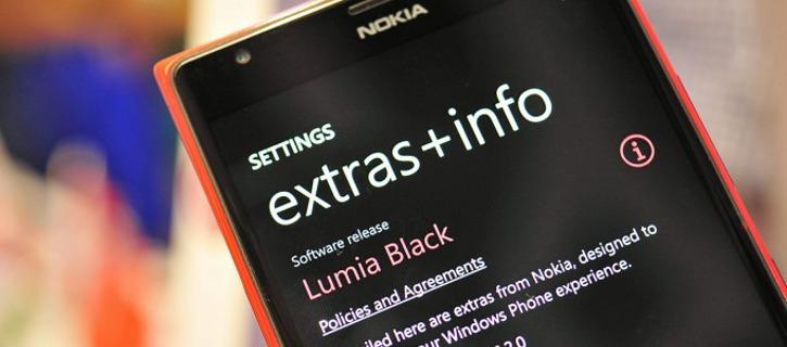 Oprogramowanie Lumia Black