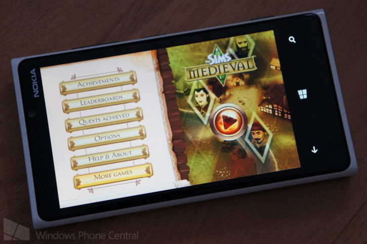 The Sims Medieval Windows Phone