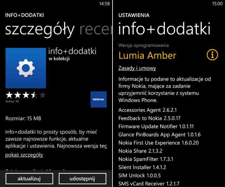 info+dodatki 3.4.3.5 Windows Phone