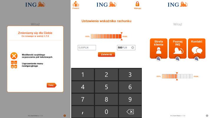 INGMobile - ING Bank Śląski Windows Phone