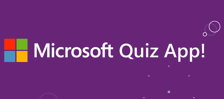 Microsoft Quiz App Windows Phone