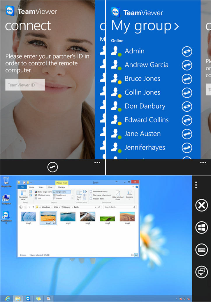 TeamViewer Windows Phone