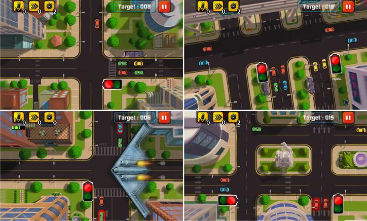 Traffic Frenzy Windows Phone