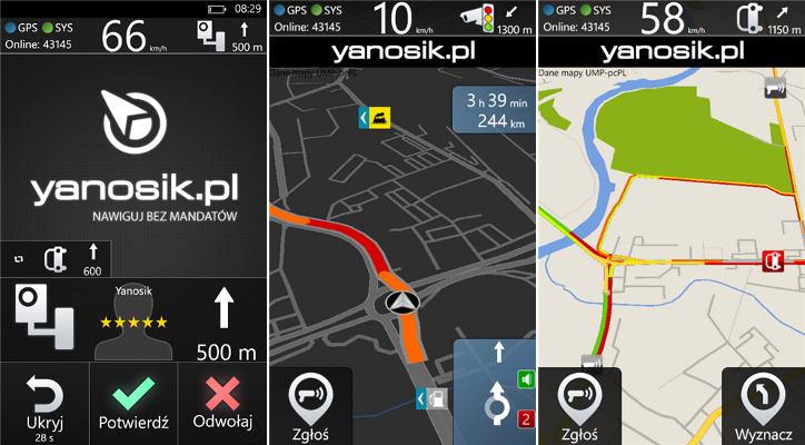 Yanosik Windows Phone