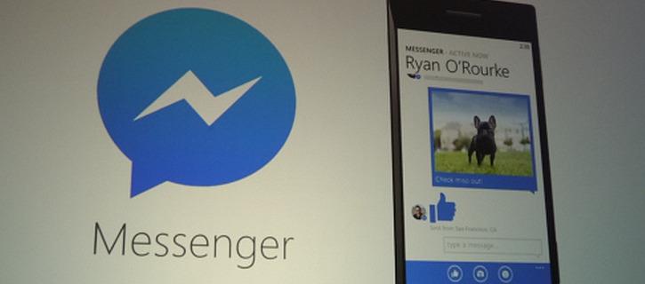 Facebook Messenger dla Windows Phone 8.1
