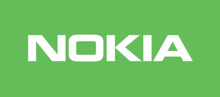 Zielony kolor logo Nokia
