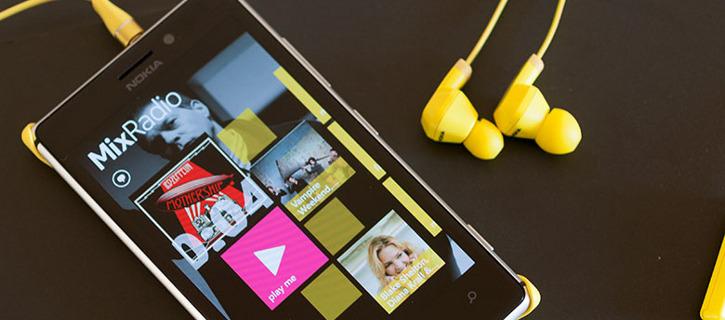 Nokia MixRadio Nokia Lumia Windows Phone 8
