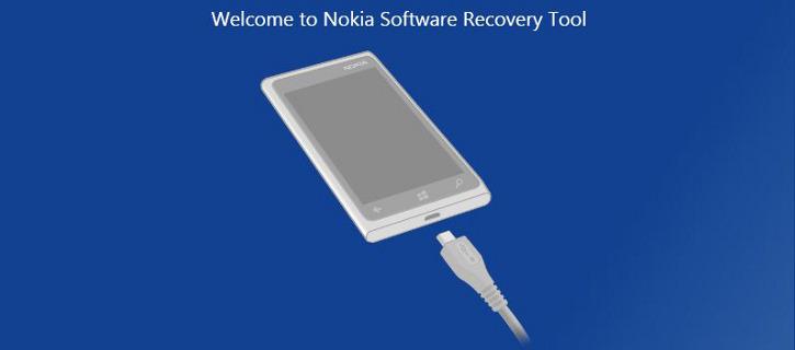 Nokia Software Recovery Tool - Nokia Lumia Windows Phone 8