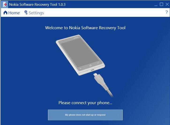 Nokia Software Recovery Tool - Nokia Lumia
