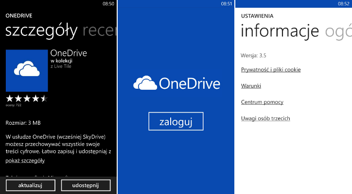 OneDrive Windows Phone